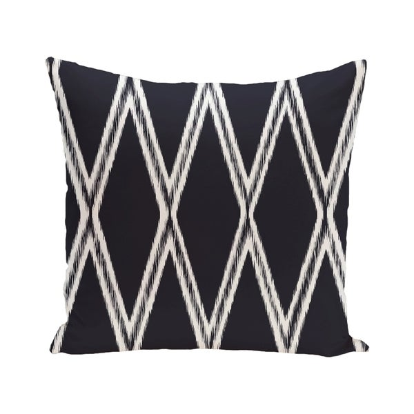 Gate Keeper Geometric Print Blue/ Red/ Grey/ Yellow/ Brown 28-inch x 28-inch Decorative Indoor Floor Pillow