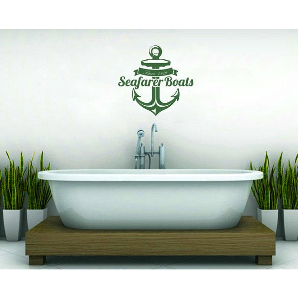 Anchor Vinyl Sticker Wall Art