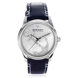 Sperry Women's Rhinestone 'Audrey' Anchor Strap Watch