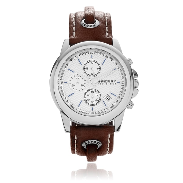 Sperry Men's 'Halyard' Skip Lace Strap Watch