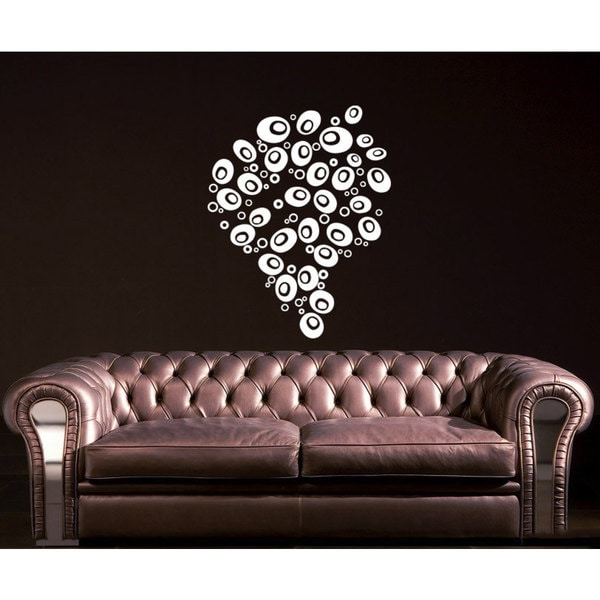 Bubbles Vinyl Sticker Wall Art