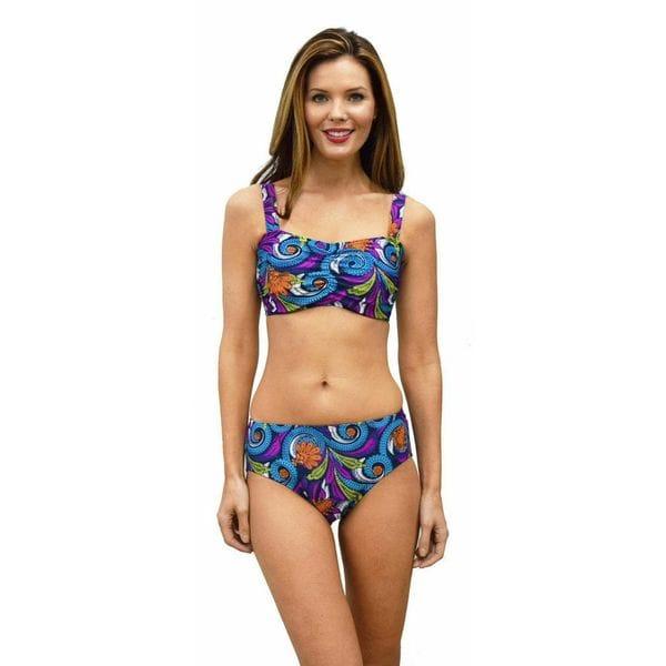 Mazu Swim Veruca Paisley Underwire Bikini Top