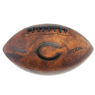 Wilson Chicago Bears 11-inch Brown Leather Football