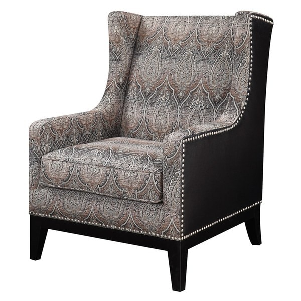 Barton Grey Accent Chair