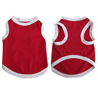 Iconic Pet Pretty Pet Red Tank Top
