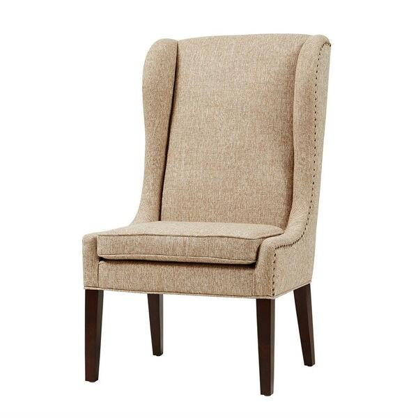 Garbo Beige Accent Chair