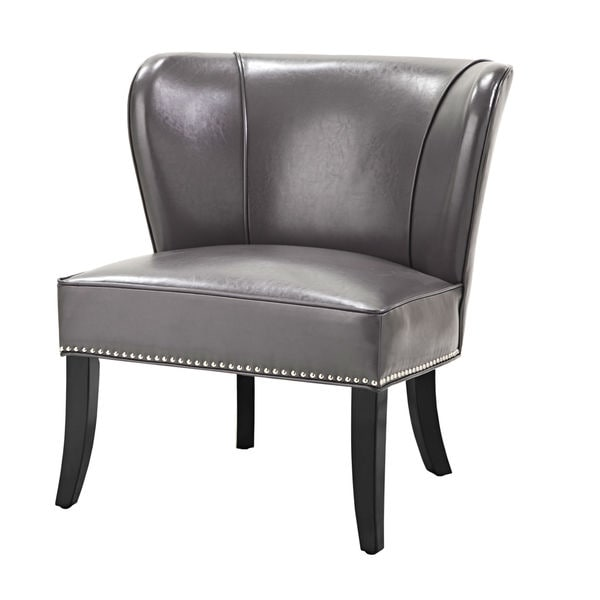 Hilton Grey Accent Chair