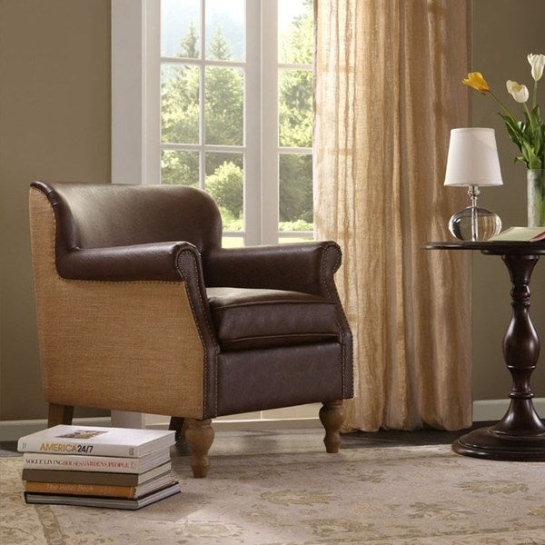 Luther Brown Accent Chair