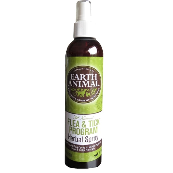 Earth Animal All Natural Flea and Tick Spray 8-ounce
