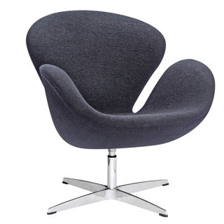 MaxMod Swan Fabric Wool Chair