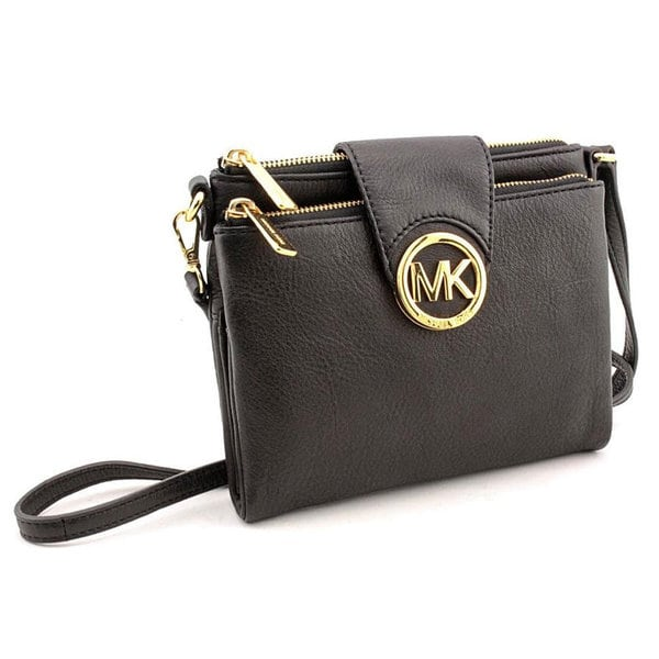 MICHAEL Michael Kors Fulton Large Crossbody - Black