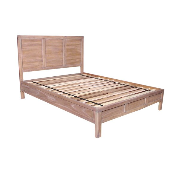 Carlson Mindi Wood Low-profile Bed