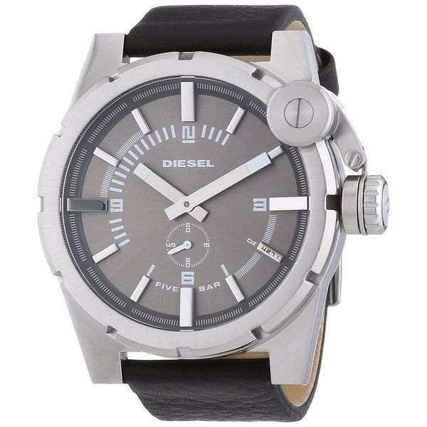 Diesel Men's DZ4271 'Advanced' Black Leather Watch