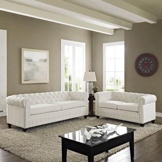 Earl 2-piece Fabric Living Room Set