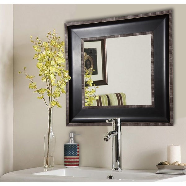 Rayne Silver Caged Wall Mirror