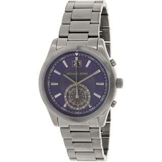 Michael Kors Men's MK8418 'Aiden' Grey Stainless Steel Watch