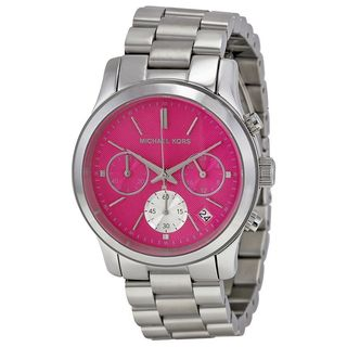 Michael Kors Women's MK6160 'Runway' Chronograph Stainless Steel Watch