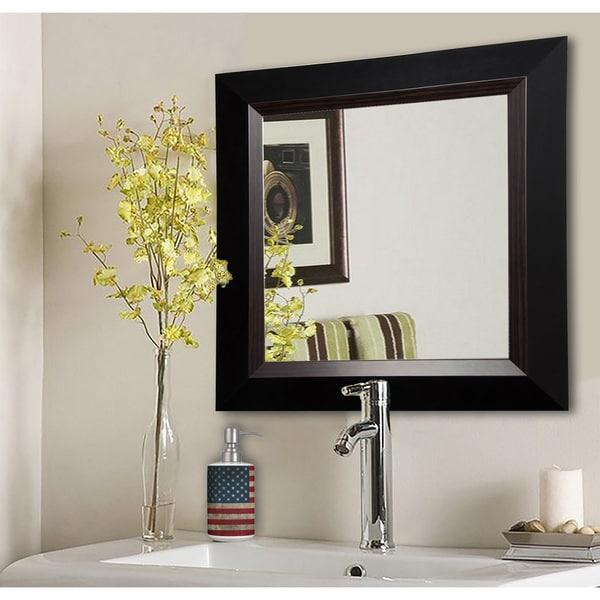 Rayne Brown Lining Wall Mirror