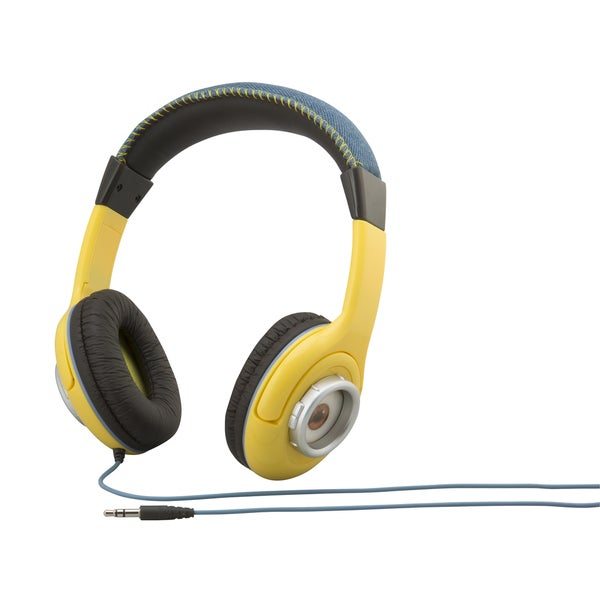 Kid Designs Minions Youth Over The Ear Headphones