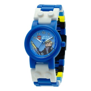 LEGO Star Wars Luke Skywalker Kid's Minifigure Interchangeable Links Watch