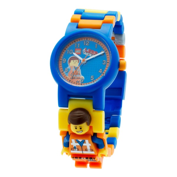 LEGO Movie Emmet Kid's Minifigure Interchangeable Links Watch