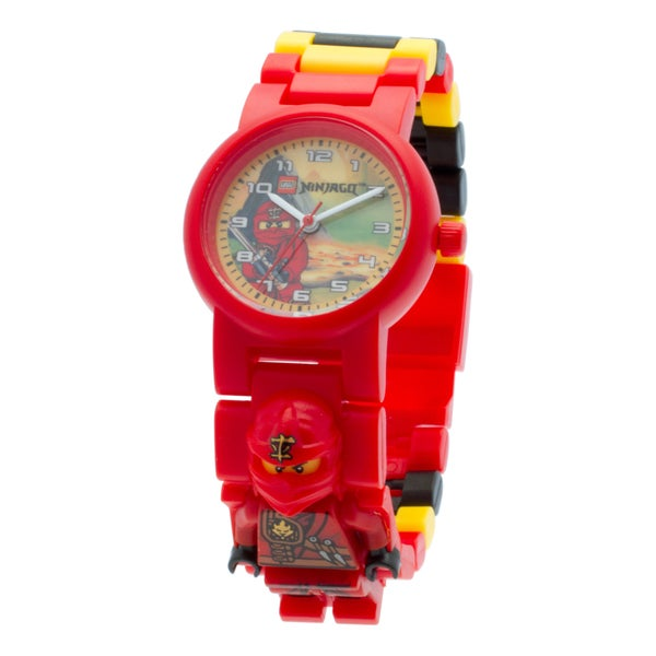 LEGO Ninjago Jungle Ninja Kai Kid's Minifigure Interchangeable Links Watch