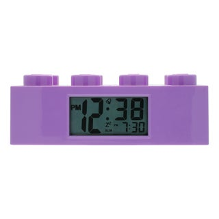 LEGO Friends Purple Brick Alarm Clock