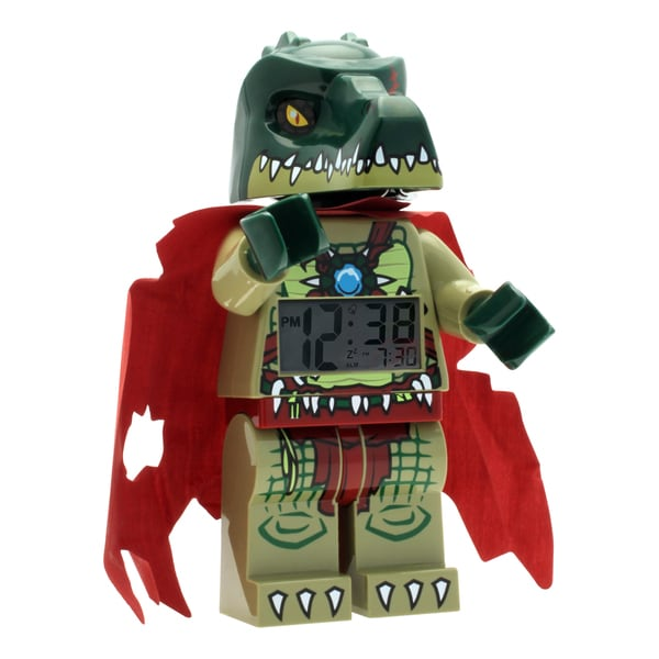 LEGO Chima Cragger Kid's Moveable Minifigure Alarm Clock