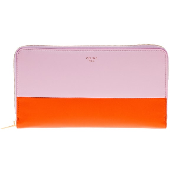 Celine Large Zip-around Multifunction Wallet