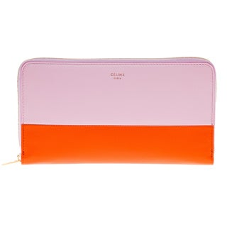 Celine Large Zip-around Multifunction Wallet