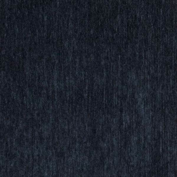 D787 Deep Blue Durable Soft Chenille Upholstery Fabric by the Yard