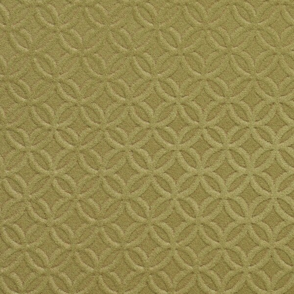 C361 Green Diamond/Circles Microfiber Upholstery Fabric by the Yard
