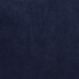 Navy Solid Stain Resistant Microfiber Velvet Upholstery Fabric (By The Yard)