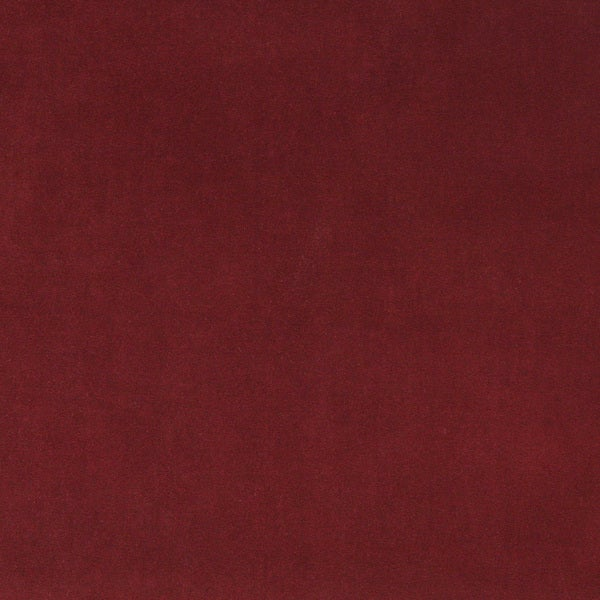 A0000O Burgundy Authentic Cotton Velvet Upholstery Fabric (By The Yard)