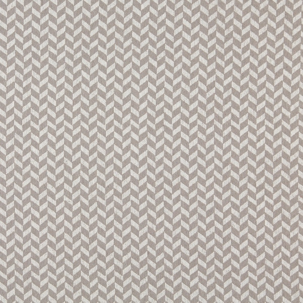 A0004F Grey Off White Herringbone Slanted Check Upholstery Fabric (By The Yard)