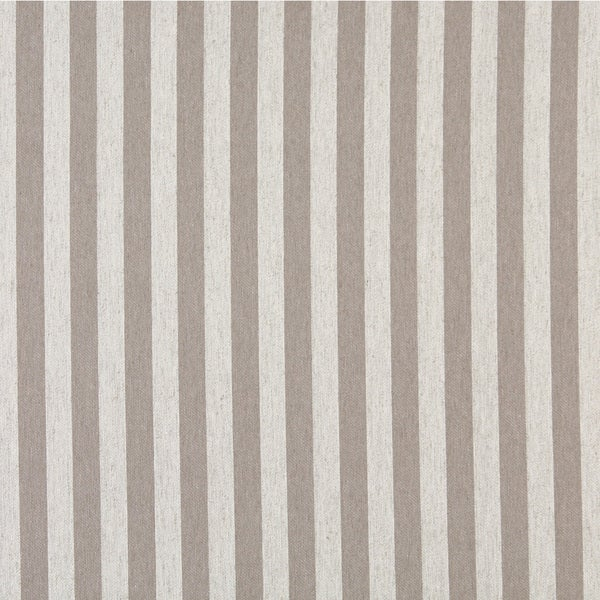 A0009F Grey Off White Striped Upholstery Fabric (By The Yard)