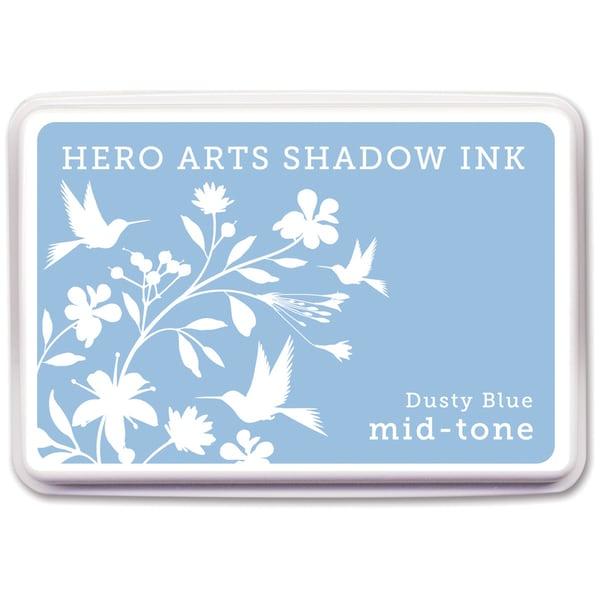 Hero Arts Midtone Ink Pads Dusty Blue