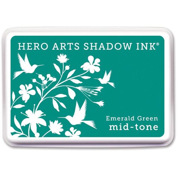 Hero Arts Midtone Ink Pads Emerald Green