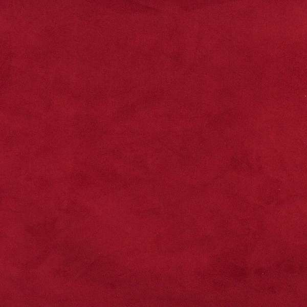 Dark Red/ Microsuede Suede Upholstery Fabric by the Yard