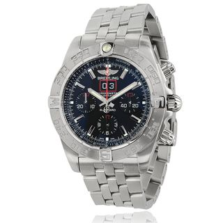 Breitling Men's A4436010-BB71 'Chronomat' Automatic Chronograph Silver Stainless steel Watch
