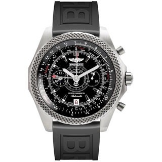 Breitling Men's E2736522-BC63 'Bentley' Automatic Chronograph Black Rubber Watch