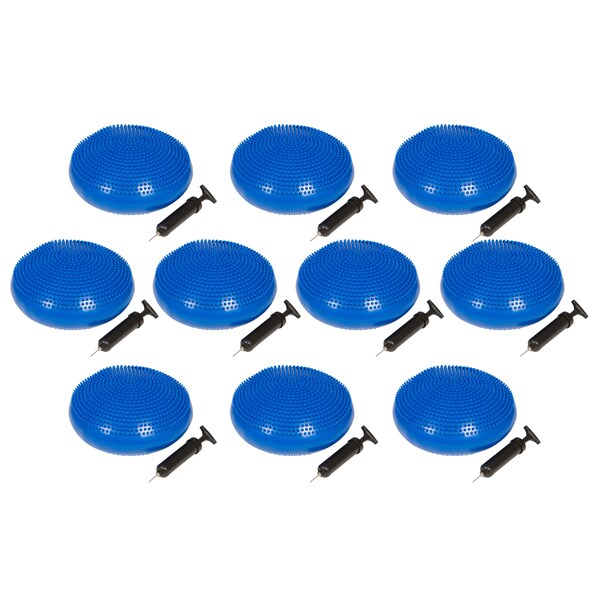 Trademark Innovations 13-inch Diameter Fitness and Balance Disc Seat (set of 10)
