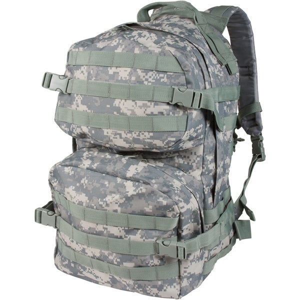 Modern Warrior Military High Quality Tactical Green Camo Backpack