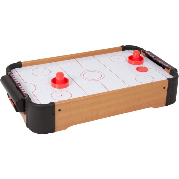 Trademark Innovations Table Top Mini Air Hockey Game Table Top Mini Air Hockey Game