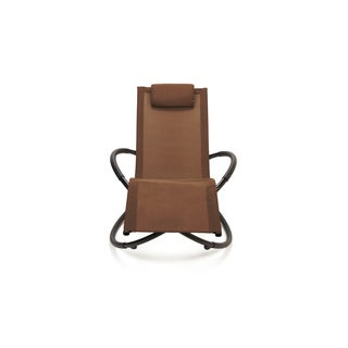 Trademark Innovations Orbital Zero Brown Gravity Lounge Chair