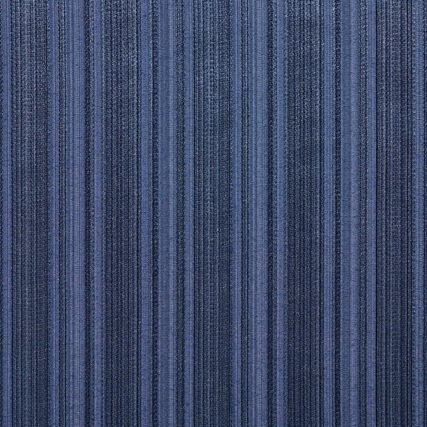A0101B Navy Two Toned Stripe Metallic Sheen Upholstery Fabric (By The Yard)