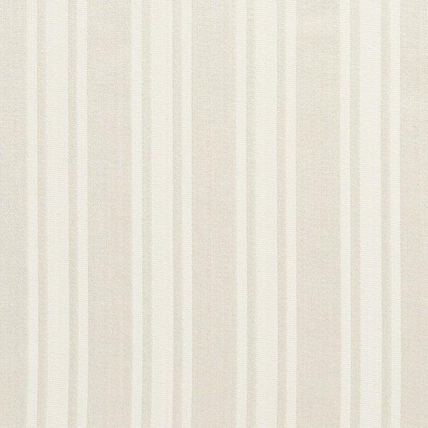 A0101J Ivory Two Toned Stripe Metallic Sheen Upholstery Fabric (By The Yard)