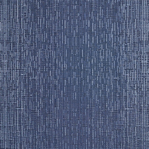 A0102B Navy Two Toned Cross Stitch Metallic Sheen Upholstery Fabric (By The Yard)