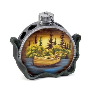 Camping Trip Multi-colored Resin Toothbrush Holder