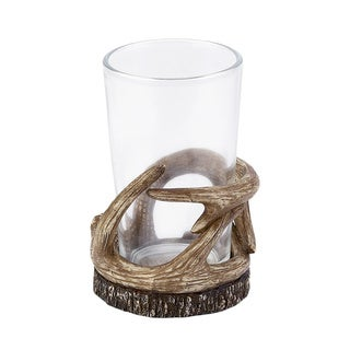 Camping Trip Brown Resin Tumbler